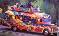 Furthur! Ken Kesey on the bus in the 1960s