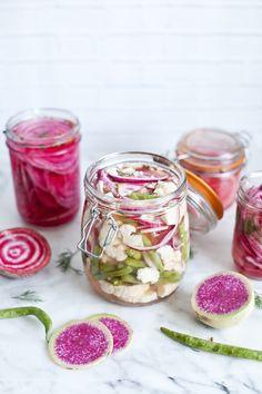 Légumes marinés express / emiliemurmure.com