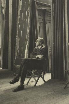Comte Etienne de Beaumont, 1926  photo by Man Ray