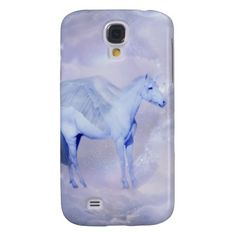 Unicorn with wings fantasy for little girls iPhone 4s 5s 6s case