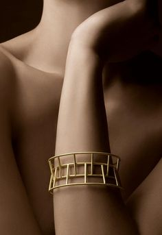 Cuff | Antonio Bernardo;; like how the pieces fit together and still allow for movement