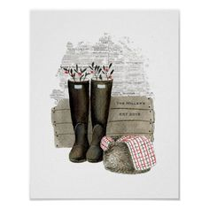 Personalised Country Farmhouse Wood Pallet Print | Zazzle.com.au Personalized Stockings, Personalised Blankets, Country Wedding Gifts, Small Christmas Stockings, Gifts For Farmers, Fish Design, Country Farmhouse, Farmhouse Decor, Nursery Inspiration