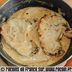 Recipe Pork ribs with mustard sauce on Recoin.fr- Pork ribs with mustard sauce Extra - Sauce Recipes, Pork Recipes, Crockpot Recipes, Chicken Recipes, Cooking Recipes, Super Dieta, Good Food, Yummy Food, Pork Ribs
