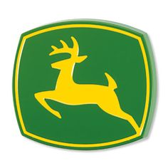 John Deere Logo Hitch Cover