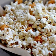 how to make hurricane popcorn