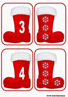 Hacemos las cuentas en invierno   Mírame y aprenderás Christmas Math, Christmas Activities For Kids, Math For Kids, Noel Christmas, Christmas Stockings, Christmas Crafts, Xmas, Autism Activities, Preschool Learning