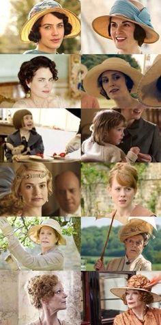 Women of Downton Abbey