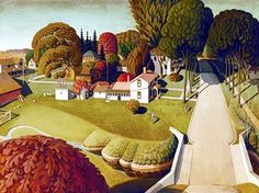 It's About Time: 1930s America's Great Depression - Regional Artist Grant Wood 1891-1942