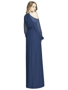 Dessy Collection Style 3018 in Sailor. Dessy Group Bridesmaids