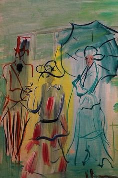 Raoul Dufy....so simple yet so beautiful...that is exactly why I love it