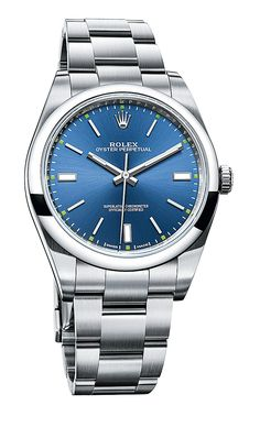 Rolex Oyster Perpetual 39 - blue