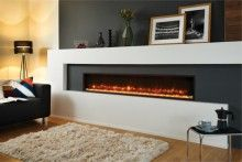 Gazco Radiance 150W Steel - Wall Mounted Electric Fire