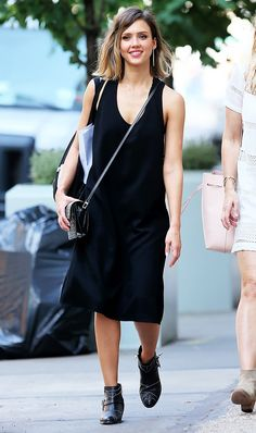9 Summery Ways to Wear Your Ankle Boots via @WhoWhatWear