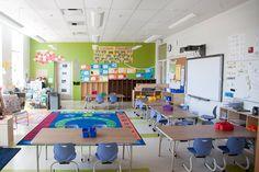 DCPS: Horace Mann Elementary School - Washington, DC | #Procedo #VersaQuartz | #spartansurfaces #Floorscore #PVCfree #RapidlyRenewable #RecycledContent #MadeInUSA