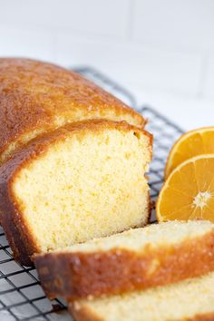 An easy and delicious orange loaf, with an orange drizzle. Wonderfully moist and full of orange flavour. Orange Recipes Baking, Citrus Recipes, Desert Recipes, Sweet Recipes, Tea Cakes, Cupcake Cakes, Cupcakes, Orange Drizzle Cake, Salted Or Unsalted Butter