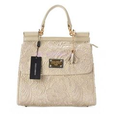 White lace Dolce & Gabbana handbag $369