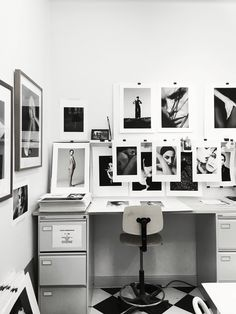 Creative space. In the office of photographer Tobias Regell. Office photo by Therese Sennerholt.