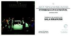 Alvy Singer Big Band  | Presentación oficial de Intimidad con extraños | Viernes 23 de agosto | Sala Siranush Palermo - Buenos Aires