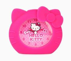 Hello Kitty Alarm Clock: Magenta