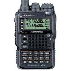 Triple Band 50-144-430 Yaesu VX-8DR B3 Unblocked Version Submersible VHF/UHF Amateur Radio Transceiver