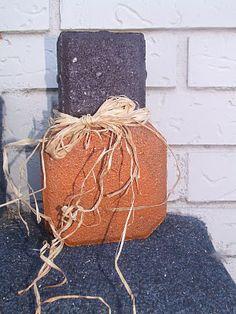 Paver Pumpkin
