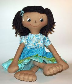 Doll, Cloth Doll, rag Doll PDF Pattern, Direct Download - 'Maggie'  Ask a Question $7.78