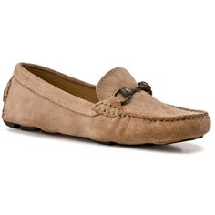 d1b17ddf9fd Mercanti Fiorentini Women s Suede Driving Moccasin - Black found on Polyvore  Dsw Shoes