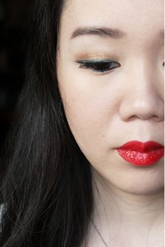 Red Lips by M.May, MissMMayhem. Product used: YSL Rouge Pur Couture Vernis à Lèvres Glossy Stain in 09 Rouge Laque