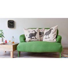 Snurk Lapin d'oreiller avec Target, crème, 50x50cm - lefliving.com