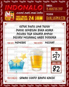 KOP 5D Togel Wap Online Indonalo Banjarmasin 15 Agustus 2017