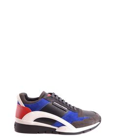 DSQUARED2 Dsquared2 Men'S  Multicolor Leather Sneakers'. #dsquared2 #shoes #sneakers