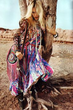 la modella mafia Natasha Poly x Vogue Paris April 2010 1