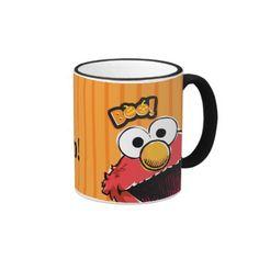Elmo - Boo! Regalos, Gifts. Producto disponible en tienda Zazzle. Tazón, desayuno, té, café. Product available in Zazzle store. Bowl, breakfast, tea, coffee. #taza #mug