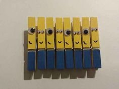 These Clothespin Minions For All Your Hanging Needs