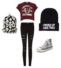 """""""shopping"""" by megsgalley on Polyvore featuring River Island, Converse, Motel, NLY Accessories, women's clothing, women's fashion, women, female, woman and misses"""