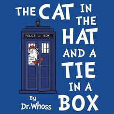 I found 'The Cat in the Hat and a Tie in a Box by Adam de la Mare' on Wish, check it out!