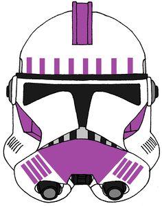 Clone Trooper Helmet 187th Legion
