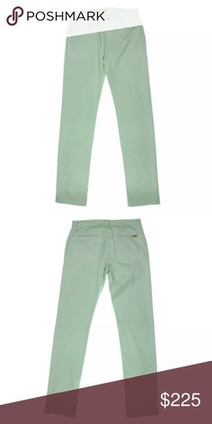 NWT💠Joe's Twill Mid-Rise Five-Pocket Skinny Jeans Manufacturer: Joe's Jeans Size: 31 Size Origin: US Manufacturer Color: Green Condition: New with tags Style Type: Slim, Skinny Bottom Closure: Button-Zip Fly Waist Across: 17 Inches Inseam: 35 1/2 Inches Leg Opening: 15 Inches Hips Across: 20 1/2 Inches Rise: 10 Inches Bottom Rise: Mid-Rise Pocket Style: Five-Pocket Material: 98% Cotton/2% Spandex Fabric Type: Twill Specialty: Solid Joe's Jeans Jeans Skinny