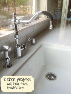 Danze kitchen faucet