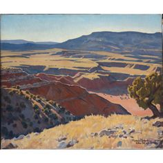 'Yonder the Navajos', by Maynard Dixon. Owned by BYU Museum of Art