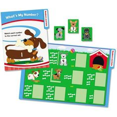 Carson-Dellosa Publishing CenterSOLUTIONS Math File Folder Games, Kindergarten