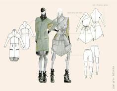 Jenna Enns - Fashion Design Portfolio by Jenna Enns, via Behance