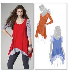 McCalls 6165 - Layered Tunics
