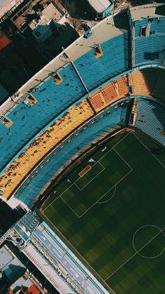 La Bombonera Premier League, World Library, Soccer Stadium, Fc Chelsea, European Soccer, World Of Sports, Tottenham Hotspur, Liverpool Fc, Lionel Messi