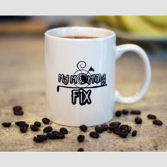 'My Morning Fix' Golf Mug