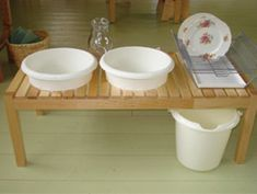 montessori wash station - Google Search