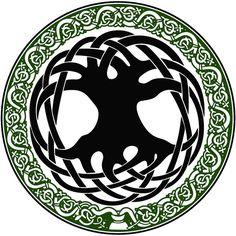 "Celtic Tree of Life Symbol | Original design Celtic Tree of Life"" by Jen Delyth ©1990 - www ..."