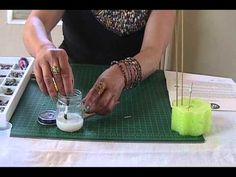 How to: Wordy Paper Beads by JaniceMae