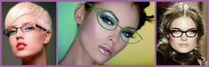 Make up per gli occhiali: fascino intellettuale |