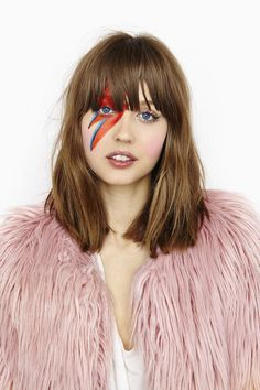David Bowie I | 25 Halloween Makeup Looks That Are Actually Easy